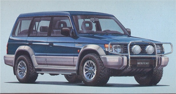 mitsubishi montero wagon gls urban custom 4wd 124 - Mitsubishi Montero 2000 Custom