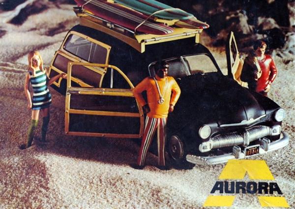 Aftermarket Car Parts >> 1951 Mercury Woodie 'Mod Squad' Station Wagon (1/25)