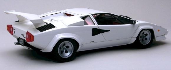 Lamborghini Countach 5000 Quattrovalvole With Full Engine