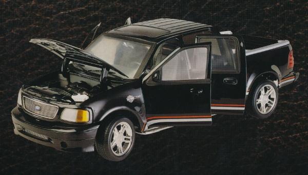 Ertl on 2001 Ford F 150