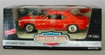 1969 CAMARO SS396 HUGGER ORANGE WHITE RALLYE STRIPES(1/18) Rare Diecast  (fs)