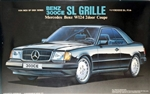 1989 Mercedes Benz 300CE SL W124 Grille Coupe (1/24) (fs)
