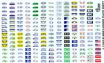 License Plates Decal Sheet Revised (1/25 or 1/24)