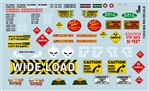 Gofer Brand Big Rig Decal Sheet (1/25 or 1/24)