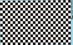 Checkerboard Decal Sheet Gofer Decals Black and White Checkered Squares(1/25 or 1/24)