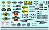 Taxi Markings Gofer Racing Decal (1/25 or 1/24)