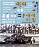Gofer Racing Curtis Turner 1950 Oldsmobile Decal Sheet (1/25)