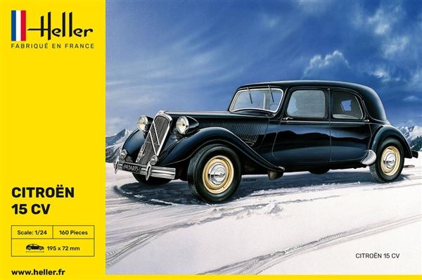 1938 citroen 15 cv  u0026quot traction avant u0026quot   1  24   si