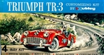 1956 Triumph TR3 Roadster (4 'n 1) Stock, Rally, Road and Custom (1/24) MINT