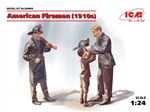 American Firemen & Boy Figure Set (1/24)
