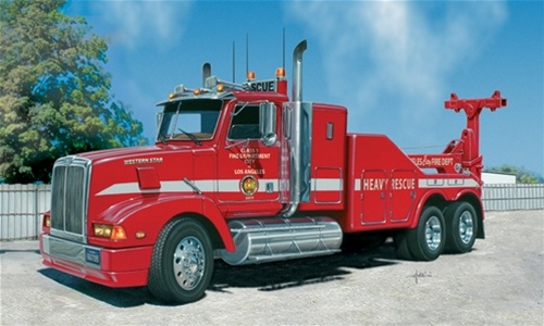 Western Star La Fire Department Recovery Truck 1 24 Fs