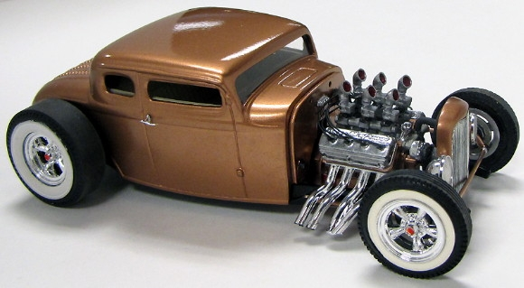 1932 Ford 5 Window Chopped Top 1 25 Body Only