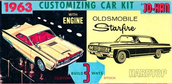 1963 Oldsmobile Starfire 3 N 1 Stock Custom Or Drag 1 25