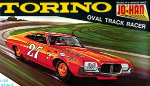 1972 Ford Torino Oval Track Racer (1/25) (fs)