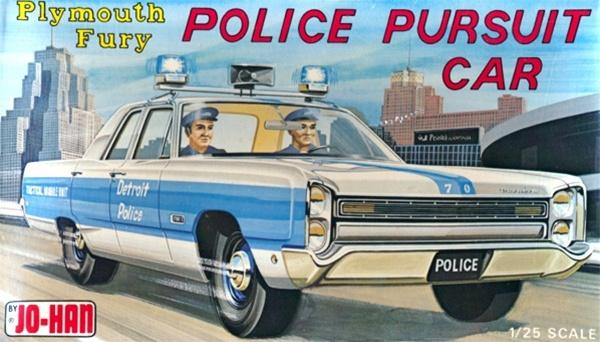 1968 Plymouth Fury Police Car 1 25 Fs