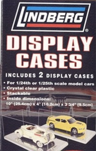 2-Pack Display Case with Chrome Finish Bottom (1/25, 1/24) (fs)