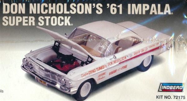 1961 Chevy Impala Dyno Don S Super Stock 1 25 Fs