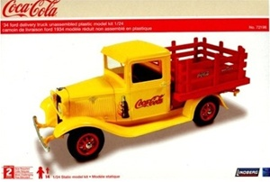 1934 Ford Coca Cola Stake Bed Pickup (1/25) (fs)