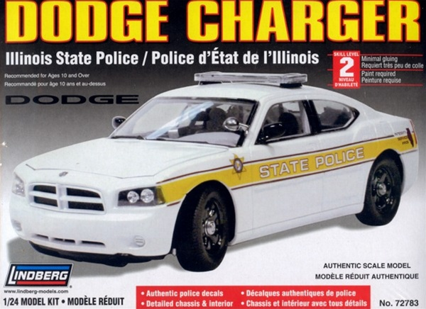 Dodge Charger Police Car Illinois State Police