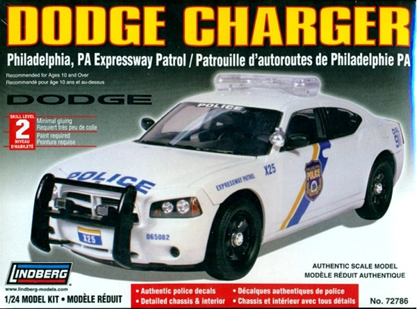 Dodge Charger Police Car Philadelphia Pa Unpainted W
