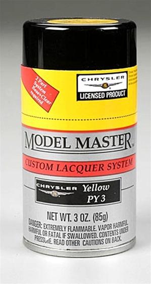 Spray Chrysler Yellow Quot Lemon Twist Quot Py3 Lacquer 3 Oz