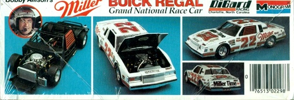 1984 Buick Regal Bobby Allison 22 Miller Time 1 24 Fs