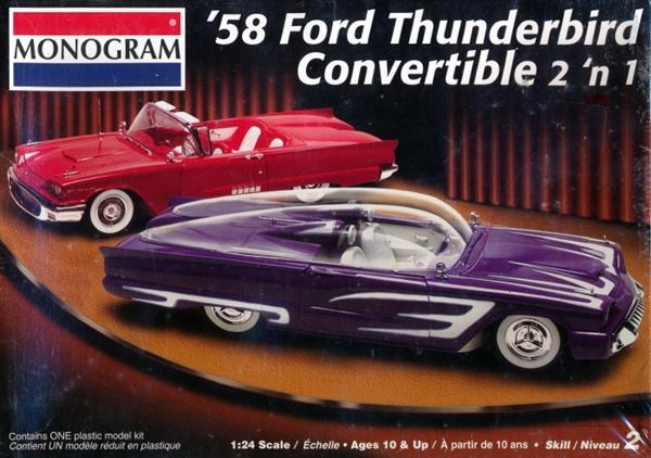 1958 Ford Thunderbird Quot T Bird Quot Convertible 1 24 Fs