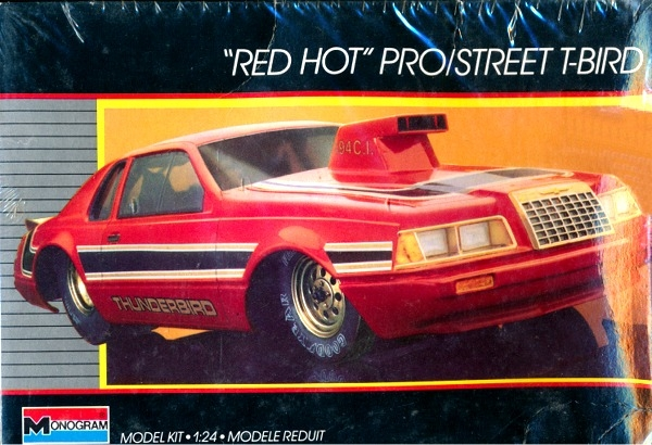 1986 Ford Thunderbird Quot Red Hot Quot Pro Street 1 24 Fs