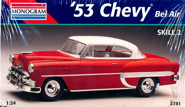 1953 chevy bel air 2 door hardtop 1 24 fs for 1953 chevy belair 2 door hardtop