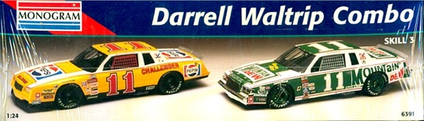 Darrell Waltrip Combo 1982 Mountain Dew Regal Amp 1985 Pepsi