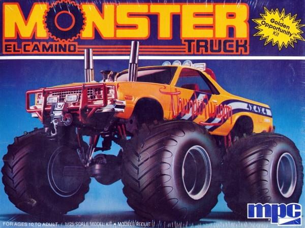 1984 Chevy El Camino Monster Truck 1 25 Fs