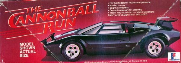 1981 lamborghini countach 39 the cannonball run 39 1 25. Black Bedroom Furniture Sets. Home Design Ideas