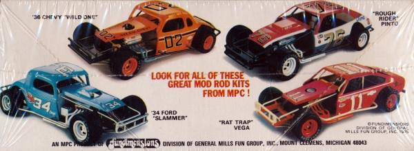 "197x Chevy Vega Modified Dirt Track Racer ""Rat Trap"" (1/25 ..."