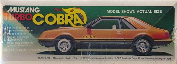 Aftermarket Mustang Parts >> 1979 Ford Mustang Cobra Turbo (1/25)
