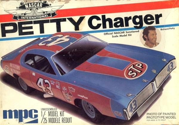 1974 Richard Petty Quot Stp Quot Dodge Charger Nascar 1 25