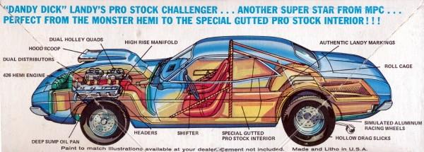 Pro Stock Challenger : Dodge dick landy challenger quot color me gone pro stock