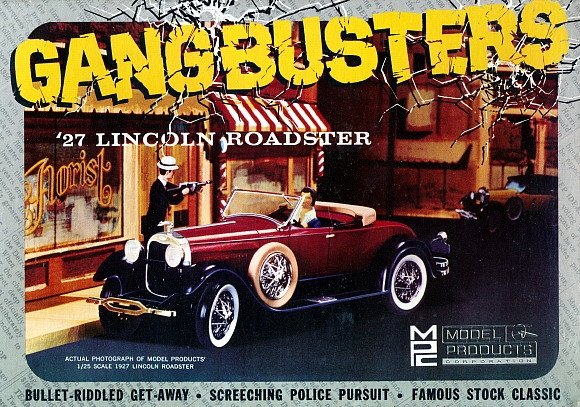 1927 Lincoln Roadster Gangbusters 1 25 Fs