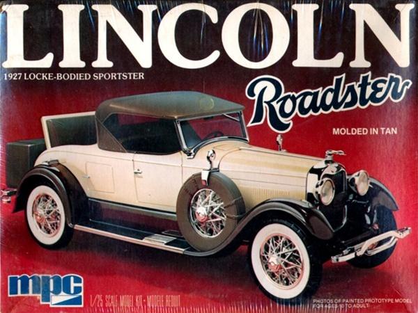 1927 Lincoln Roadster 1 25 Fs