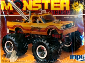 1984 Datsun Pickup Monster Tow Truck (1/25) (fs)