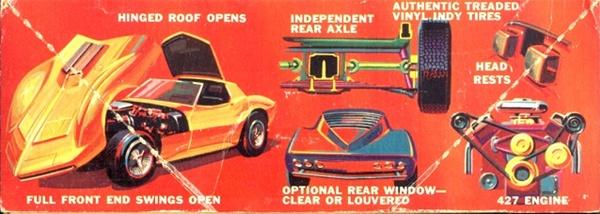 1966 Corvette Mako Shark Ii With Trailer 1 25