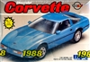 1988 Chevrolet Corvette (1/25) (fs)