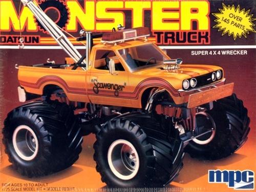 1982 Datsun Monster Pickup Truck (1/25) (fs)