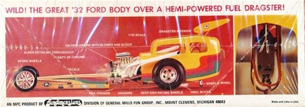 mpc 1932 ford rail rod  u0026 39 jawbreaker u0026 39  dragster  1  25   fs