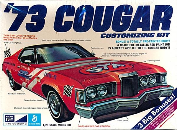 1973 Mercury Cougar Hardtop 3 N 1 Stock Street Or