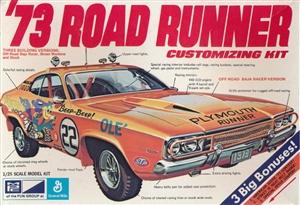 1973 Plymouth Roadrunner Hardtop 3 N 1 Stock Street