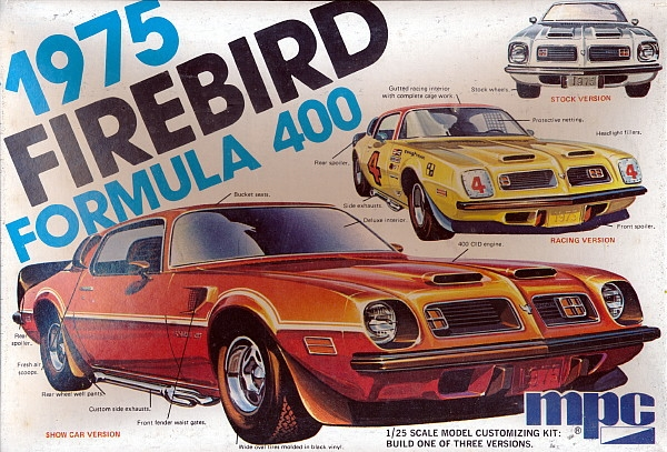 1975 Pontiac Firebird Quot Formula 400 Quot 3 N 1 Stock Show