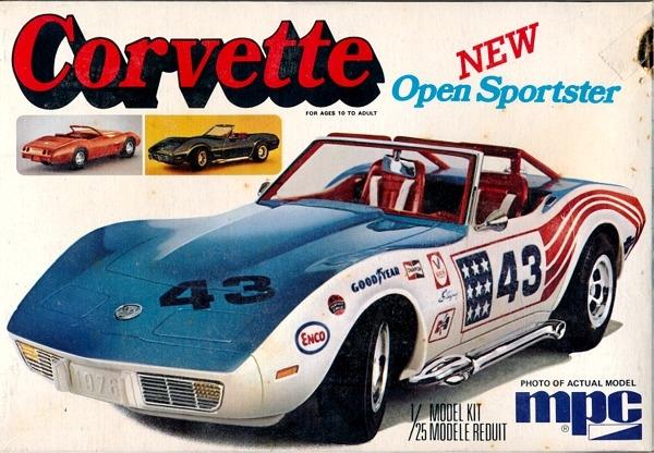 1976 Corvette Open Sportster 3 N 1 Stock Hot Road