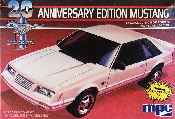 Image result for MPC 1984 Mustang GT