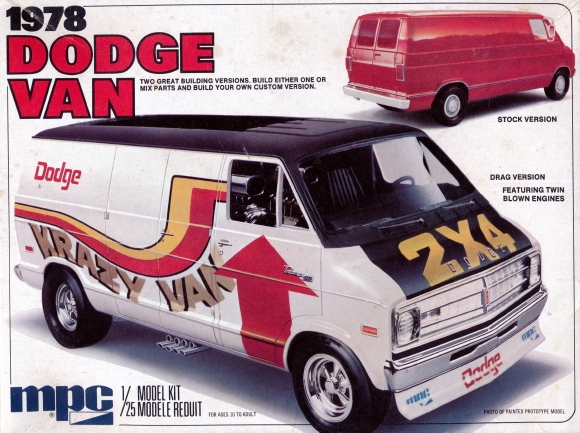 1978 Dodge Van 2 N1 Stock Or Drag Version 1 25 Fs