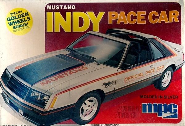 & 1979 Ford Mustang Cobra Turbo T-Top u0027Indy Pace Caru0027 (1/25) (fs) markmcfarlin.com